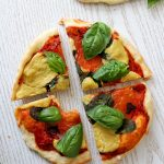 Mini Pizzas with Cashew Mozzarella