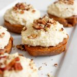 Mini Carrot Cakes with Cashew Coconut Icing